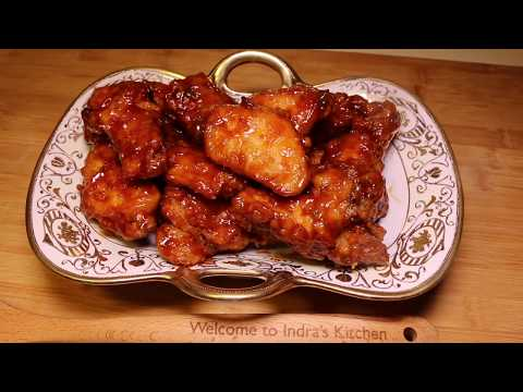 How to make hot and spicy BBQ chicken wings - Episode 21