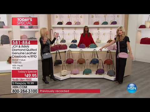 HSN | JOY & IMAN: Fashionably Functional Holiday Event 12.16.2017 - 07 AM