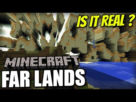 Minecraft PS4 - FAR LANDS - IS IT REAL ? PE / Xbox / PS3 / Wii U