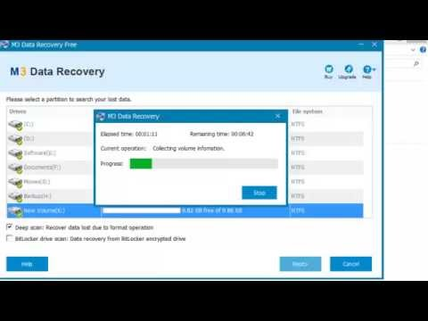 Recover data from formatted hard drive, external HDD, USB drive, SD card, memory card