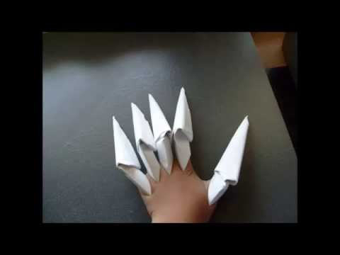 How To Make A Paper claw