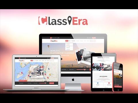 Classiera – Classified Ads WordPress Theme Installation