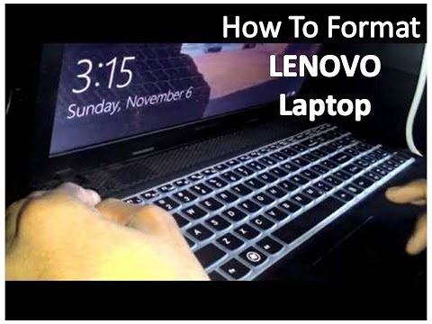 Lenovo G505 Laptop Factory Windows Restore Instructions