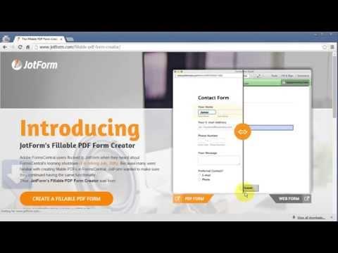 Fillable PDF Form Creator