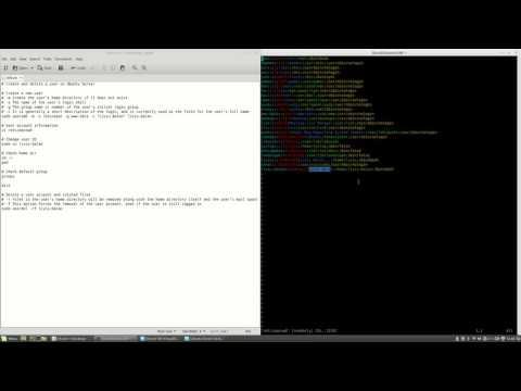 Create and delete users on Ubuntu Server #26