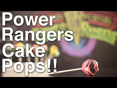 Power Rangers POP ROCKS Cake Pops!!