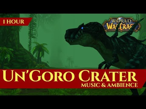 Vanilla Un'Goro Crater - Music & Ambience (1 hour, 4K, World of Warcraft Classic)