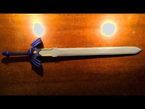 Make your own Master Sword! [Legend of Zelda] - Free templates