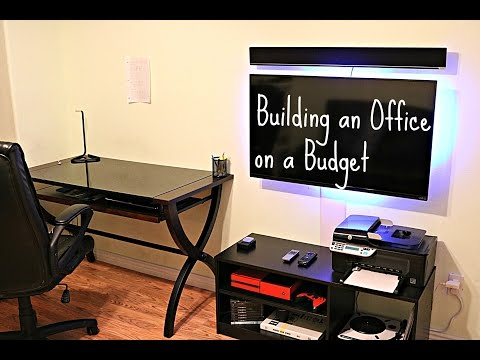 Building an Office on a Budget!
