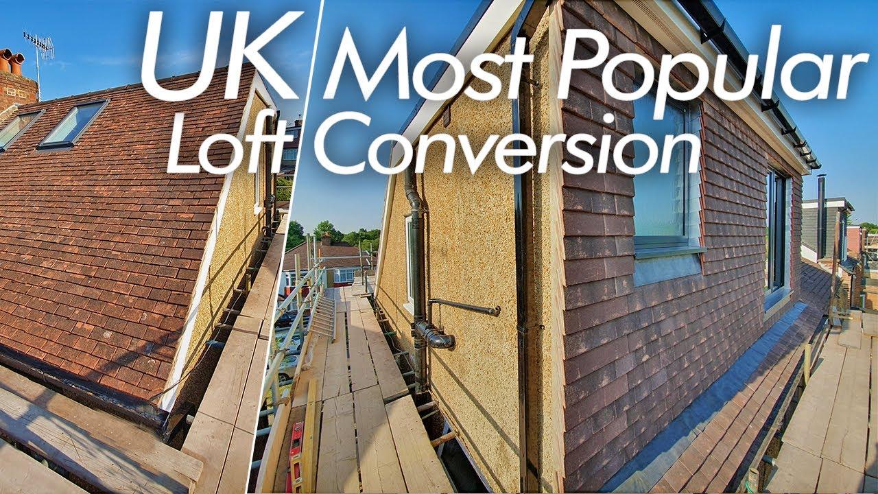 Loft conversion UK. TOUR of a loft conversion. Semi-detached house loft conversion.  Bedroom+ensuite