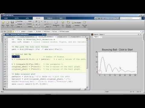 MV3D Appendix C.3 - Animations using the plot command in MATLAB
