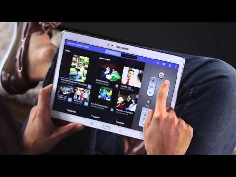 The Samsung Galaxy Tab S – Apps and Entertainment