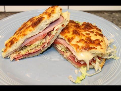 Making Italian Sandwiches