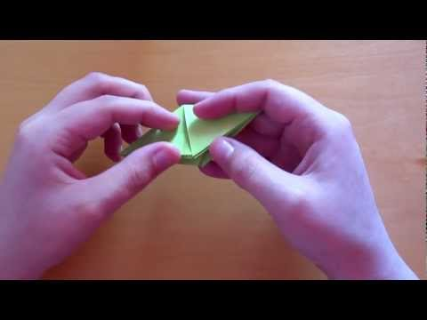 How to make The Sims Crystal in Origami (Plumbob)