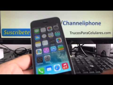 Blocking Calls and Texts in iPhone 5s 5c 5 4s iOS 7 English Channeliphone