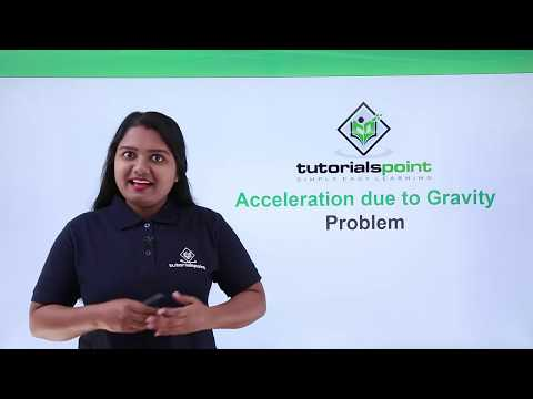 Class 9th Physics - GRAVITATION - Acceleration due to gravity problem