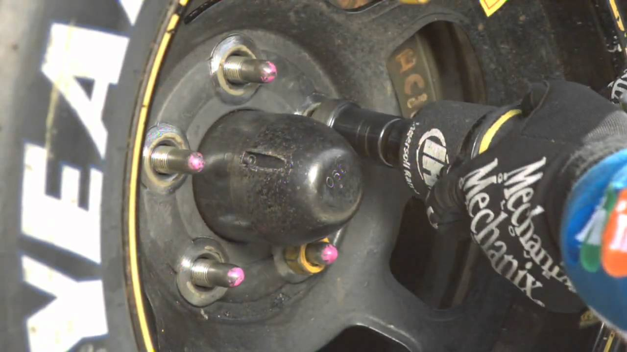 Sport Science explores the science of a NASCAR pit crew, Part 1