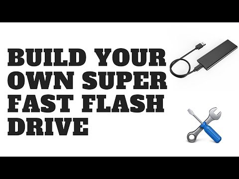 Build Your Own SUPER FAST Flash Drive
