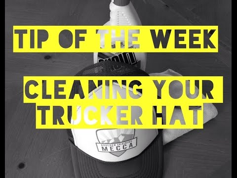 BTM's Tip Of The Week_How To Clean Your Trucker Hat