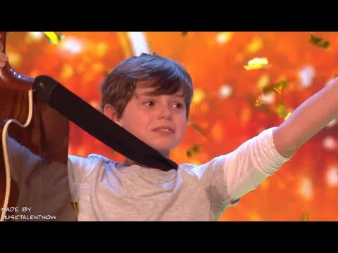 Father & Son Get GOLDEN BUZZER from SIMON COWELL! #2 GOLDEN BUZZER 2018 - Jack and Tim on Got Talent