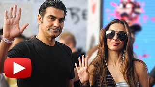 Malaika Arora And Arbaaz Khan SPOTTED Together At Mumbai Airport