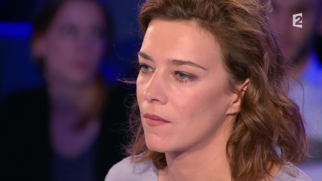 """Céline Sallette: """"Je suis comédienne, j'ai une maladie... vivre par les autres"""" 18/10/14 #ONPC"""