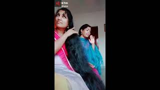 Download Long hair desi indian College beautiful girls dubsmash compilations 2 Video