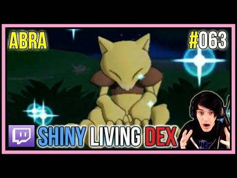 [LIVE] SHINY ABRA REACTION! | Shiny Living Dex #063 | Pokemon X and Y