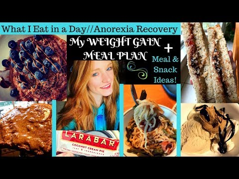 WEIGHT GAIN MEAL PLAN // What I Eat in a Day of Anorexia Recovery
