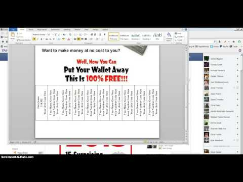 How To Edit One Of Our Tear Off Flyers