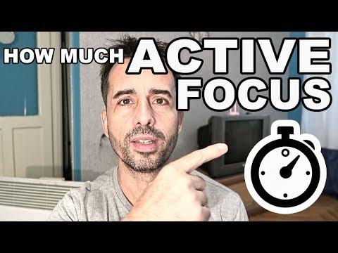 Minimum Daily Active Focus Time?  (PRO TOPIC)