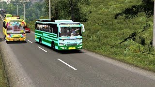 T N S T C BUS drive on ETS2 sumatra map/gameply v1 23