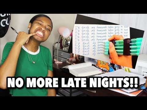 10 COLLEGE HOMEWORK HACKS!!! (Finish faster and STILL GET A'S)