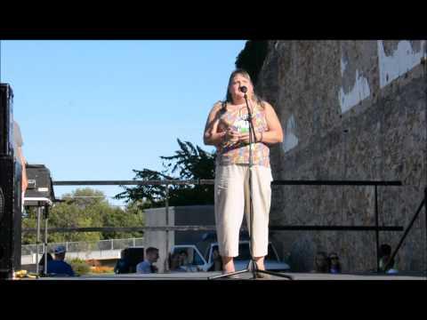 Topeka Pride President Stephanie Mott