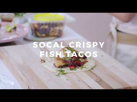 California Crispy Fish Tacos