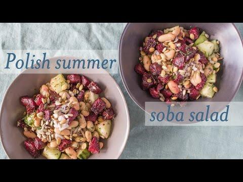 Polish Summer Soba Salad // Salad Samurai