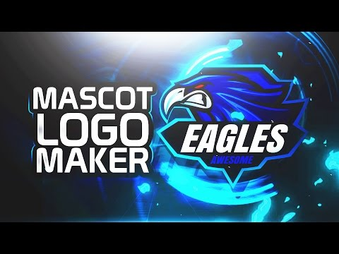 How to Make an eSports GAMING Mascot Logo WITHOUT Adobe Photoshop & Illustrator! (2017)