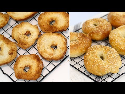 How to Make BAGEL CHIPS | DIY EASY Bagel Chips | RECIPE