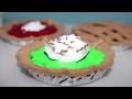 DIY American Girl Doll Pies