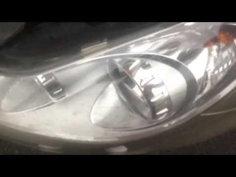 Corsa D passenger headlight bulb change