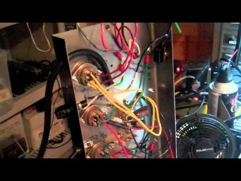 Vacuum Tube amplifier - first smoke test