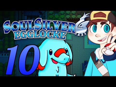 Pokemon Soul Silver Egglocke - Episode 10 ~ TRUNKS & TREES! - HGSS Egglocke
