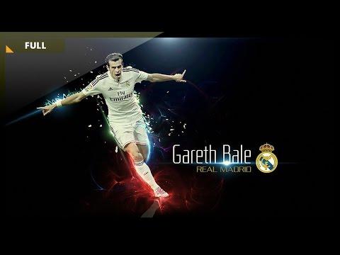 Photoshop Graphic Design - How to design a football wallpaper - Gareth Bale