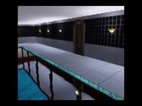 Sims 3: Underground House + Pool w/ Windows (Showing)