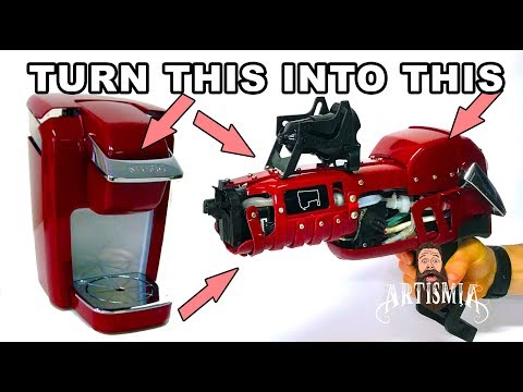 Coffee Maker Laser Blaster Prop ~ Artismia How To Make