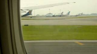 Cathay Pacific Airways Boeing 777-300 Takeoff From Hong Kong