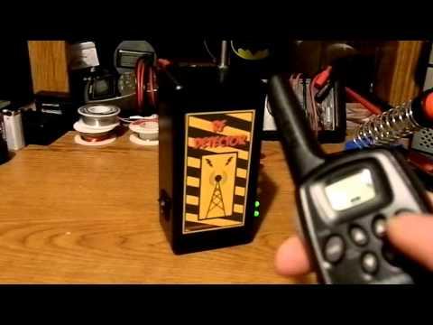 Homemade RF Detector