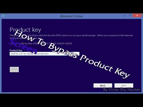 How to SKIP Windows 8 Product Key Screen in Installation !!!