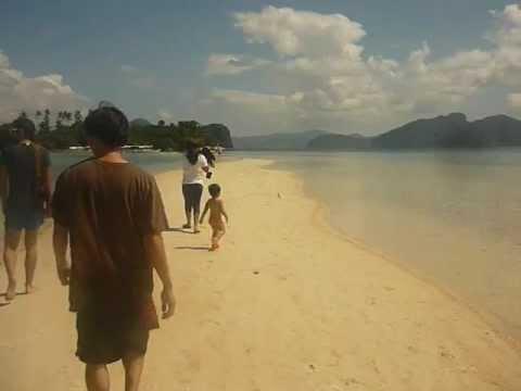snake island sand bar. el nido  palawan 2