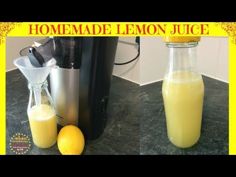 How to Make Lemon Juice | Lemon Juice for Weight Loss | Benefits of Drinking Lemon Water